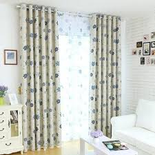 Curtains Floral Shop Blue Window Curtains On Wanelo