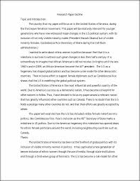 how to write an outline for research paper psci 370 research paper outline african american women in politics this preview has intentionally blurred sections sign up to view the full version
