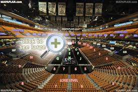 Td Garden Layout Boston Td Garden Seat Numbers Detailed Seating Plan Mapaplan
