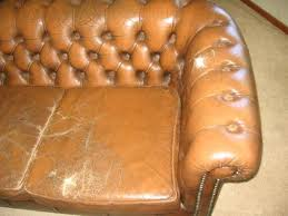 Worn Leather Sofa Leather Restoration Reconditioning Leather Furniture