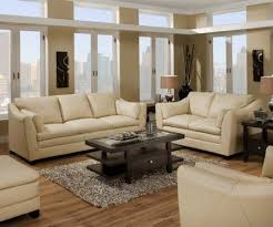 Cream Leather Armchairs I Like The Style Of This Leather Sofa Loveseat Set