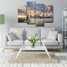 Wall Art Paintings For Living Room Cityscape Wall Art Promotion Shop For Promotional Cityscape Wall