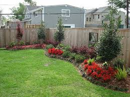 Florida Backyard Landscaping Ideas by Backyard Landscaping Along Fence Gardening U0026 Outdoors
