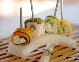 japanese fusion cuisine way of sushi lollipop style this would work for my