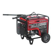 Home Depot Outlet Store by Honda 5 000 Watt Gasoline Portable Generator With Gfci Outlet