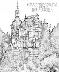 free download coloring pages inspired by miss peregrine u0027s home