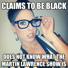 Lawrence Meme - claims to be black does not know what the martin lawrence show is