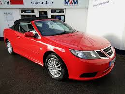 saab convertible red used saab 9 3 red for sale motors co uk
