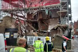 barnes house collapse prior building work to blame says