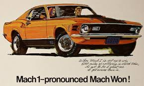 70s mustang tbt mach 1 pronounced mach won in vintage 70s ad mustangforums