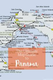 Panama City Map 335 Best P A N A M A Images On Pinterest Central America Travel