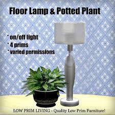 floor plants home decor second life marketplace floor l plant decor lighting