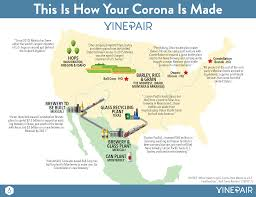 Monterrey Mexico Map by Map This Is How Your Corona Is Made Vinepair