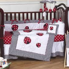 Ladybug Crib Bedding Set Ladybug Black And White 9 Crib Bedding Set Baby
