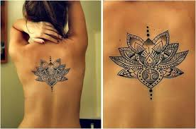 lotus back tattoo tattoo collections