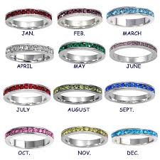 birthstone stackable rings for birthstone stackable rings stacking rings personalized stacking