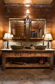 Rustic Bathroom Vanities For Vessel Sinks Rustic Bathroom Vanity Cabinets And Accessories Ideas