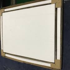 high quality clear glass magnetic writing board office notice