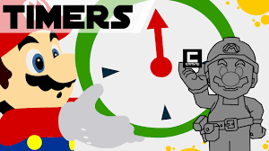 5 designs for timers in mario maker