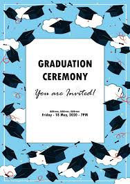 graduation poster graduation poster throwing graduation hats in the sky stock