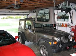 garage affordable jeep garage design jeep wrangler maintenance