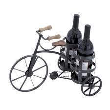 galvanized 6 bottle tabletop wine rack u0026 reviews birch lane