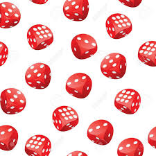 adobe illustrator random pattern seamless pattern of red gambling dices in motion randomly placed