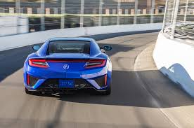Acura Sports Car Price 2017 Acura Nsx First Drive Roadtest Review Automobile Magazine