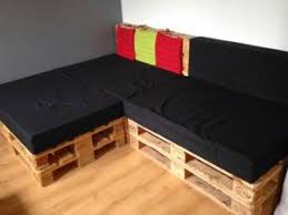 housse coussin canapé pour canapé en palette