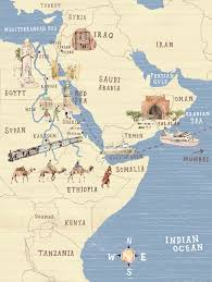 Political Map Of The Middle East by Political Map Of The Middle East Maps And Globes Pinterest