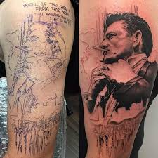 my splicer bioshock tattoo done by justin harris at deep six