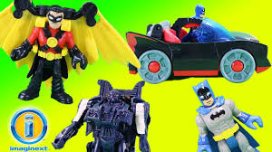 imaginext batmobile with lights imaginext batman batmobile with lights red robin superhero mystery