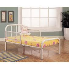 amazon com kings brand furniture metal toddler bed frame with