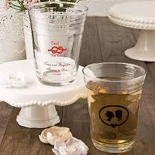 customized wedding favors 16 oz custom printed clear glass wedding favors