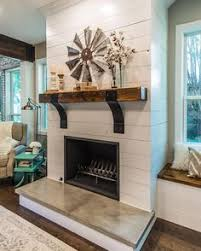 Diy Fireplace Cover Up I U0027m So Excited To Be Sharing Our Diy Shiplap Fireplace With You