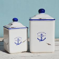 large kitchen canisters anchor ceramic storage jar small coastalhome co uk kitchen