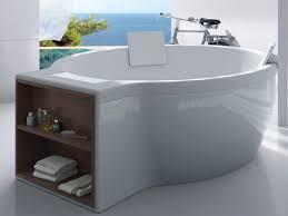 vasca da bagno circolare circular vasca da bagno free standing con vano portaoggetti