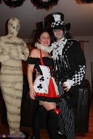 Evil Queen Halloween Costume Evil Mad Hatter U0026 Queen Hearts Costume Photo 2 4