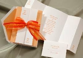 Wedding Invitations With Ribbon Wedding Invitation With Ribbon Tbrb Info