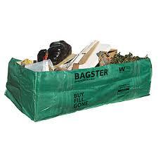 waste management bagster 1500 kg waste disposal bag the home