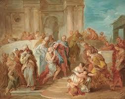 Bartholomew The Blind Man François Lemoyne 1688 U2013 1737 French I Am A Child