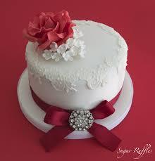 ruby wedding cakes sugar ruffles wedding cakes barrow in furness and the