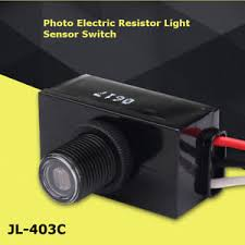 photocell sensor automatic light control switch mini dusk to dawn photocell automatic led light control sensor