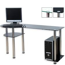 Computertisch Schmal Pc Tisch Glas Möbel Ideen Und Home Design Inspiration