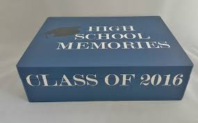 graduation memory box high school memory box graduation memory box college