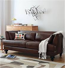 Mixing Leather And Fabric Sofas Decorating Around A Leather Sofa Centsational Style