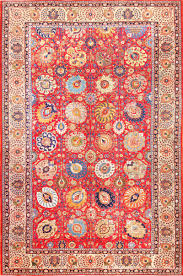 Buy Persian Rugs by Large Antique Vase Design Persian Tabriz Rug 49196 Antique