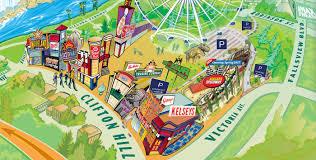Maps And Direction Niagara Falls Maps And Directions Clifton Hill Niagara Falls Canada