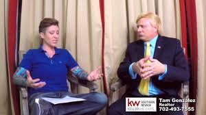 donald trump kw donald trump impersonator john di domenico being interview by tam