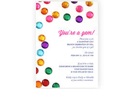 s day brunch invitation oh hello you re a gem an animated galentines day brunch